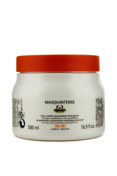 Masca pentru par cu fir fin/normal Kerastase Nutritive Irisome Masquintense Cheveux Fins, 500 ml