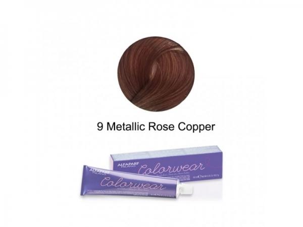 Vopsea fara amoniac Alfaparf COLOR WEAR ROSE COPPER 9 ,60 ml