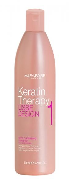 Sampon pentru curatare in profunzime  Alfaparf Lisse Design Kt Deep Cl Shampoo ,500 ml 1