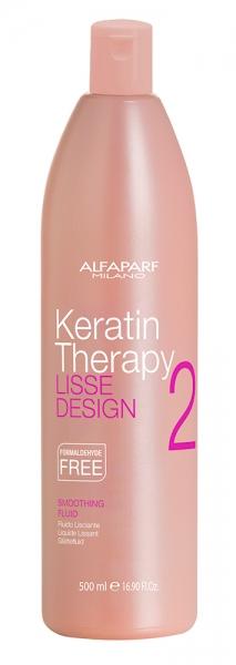 Lotiune pentru netezire  Alfaparf Lisse Design Kt Smoothing Fluid ,500 ml