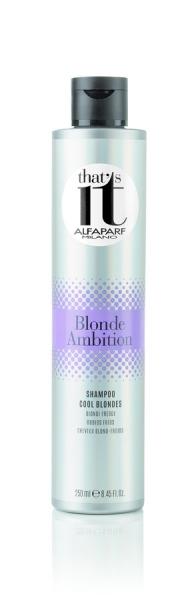 Sampon pentru blond rece Alfaparf Ti Blonde Ambition ,250 ml