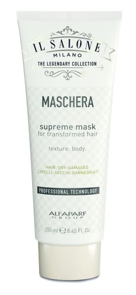 Masca pentru par foarte uscat sau degradat Alfaparf Salone Supreme Mask ,250 ml