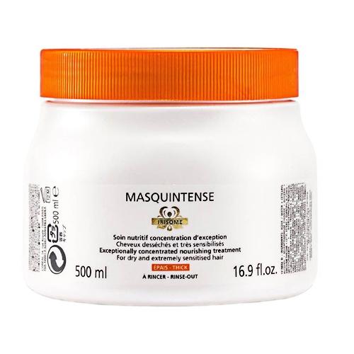 Masca pentru par cu fir gros Kerastase Nutritive Irisome Masquintense Cheveux Epais, 500 ml