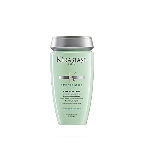 Sampon pentru scalp gras Kerastase Specifique Bain Divalent, 250 ml 0