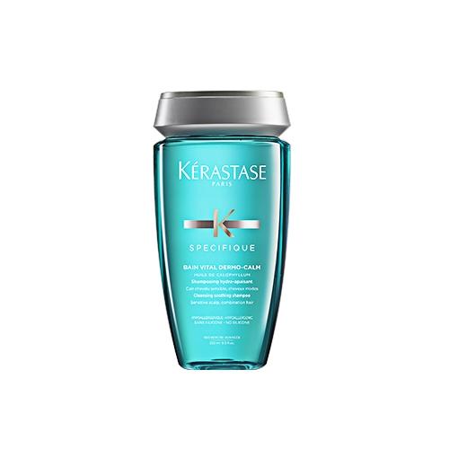 Sampon pentr scalp sensibil si par uscat Kerastase Specifique Dermocalm Bain Vital, 250 ml