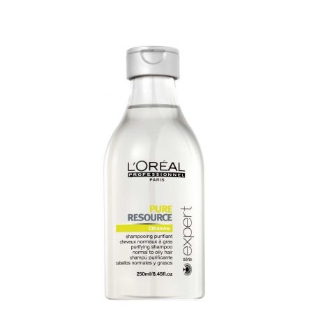 Sampon pentru par normal si gras L`Oreal Professionnel Serie Expert Pure Resource, 250 ml