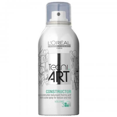 Spray termo-activ pentru textura L`Oreal Professionnel Tecni.ART Constructor, 150ml