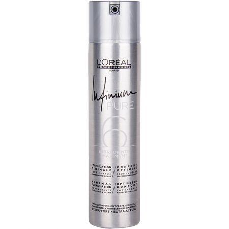 Fixativ cu mentinere lejera L`Oreal Professionnel Infinium Pure Soft, 500 ml  0