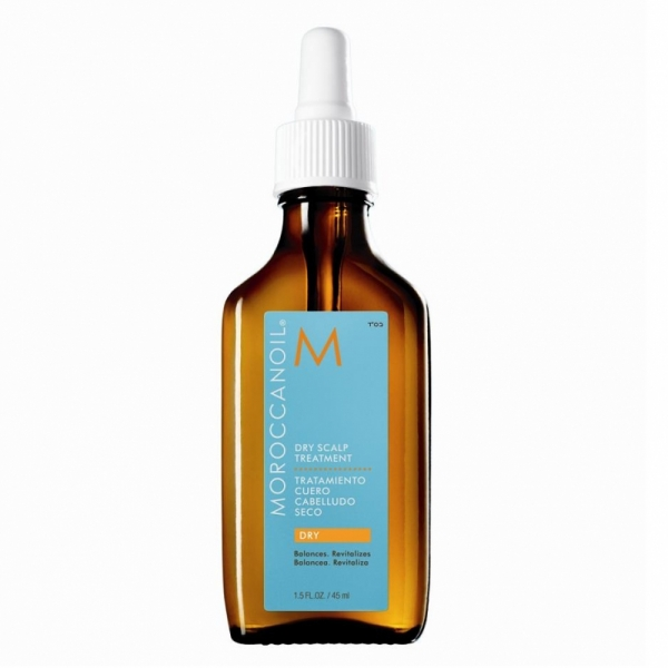 Tratament pentru scalp gras Moroccanoil Scalp Dry-No-More, 45 ml
