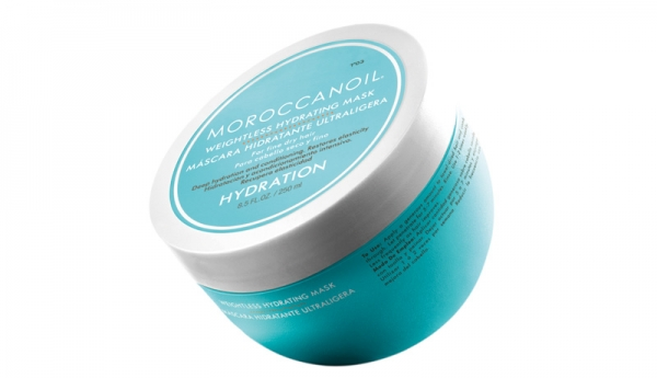 Masca hidratanta pentru par uscat cu fir fin Moroccanoil Weigthless Hydrating Mask, 250 ml