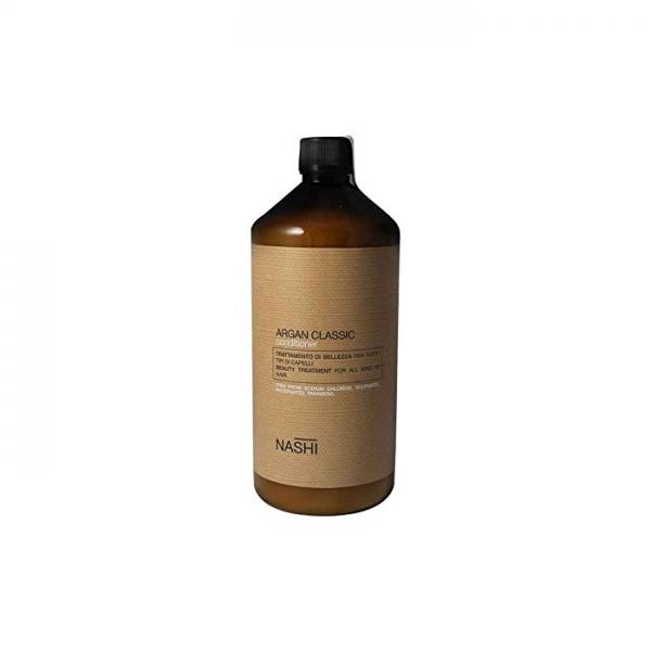 Balsam hidratant pentru toate tipurile de par cu ulei de argan Nashi Argan, 1000 ml