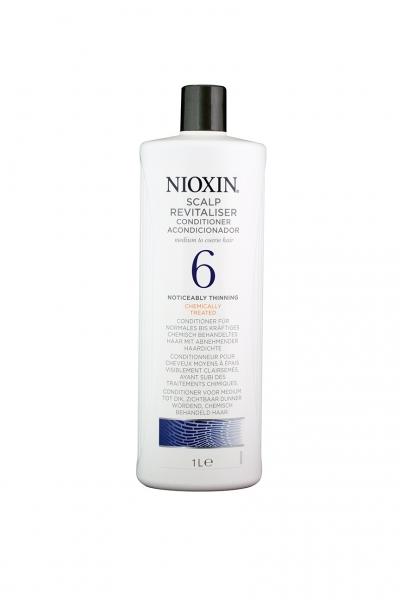 Balsam impotriva caderii parului Nioxin System 6 Scalp Revitaliser, 1000 ml