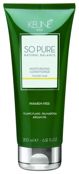 Balsam tratament hidratant pentru par deteriorat Keune So Pure Moisturizing, 200ml