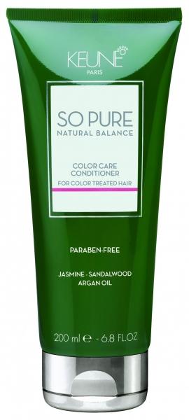Balsam tratament pentru ingrijirea parului colorat Keune So Pure Color Care, 200ml