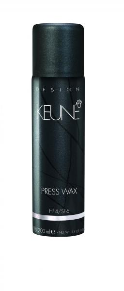 Ceara usoara cu pulverizare si efect satinat Keune Press Wax, 200 ml 0