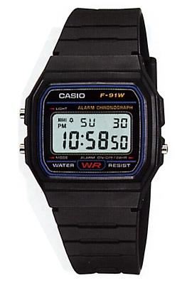 Ceas Casio F-91W-1DG 1
