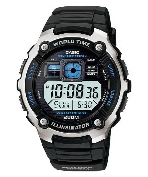 Ceas barbatesc Casio Illuminator AE-2000W-1AVDF