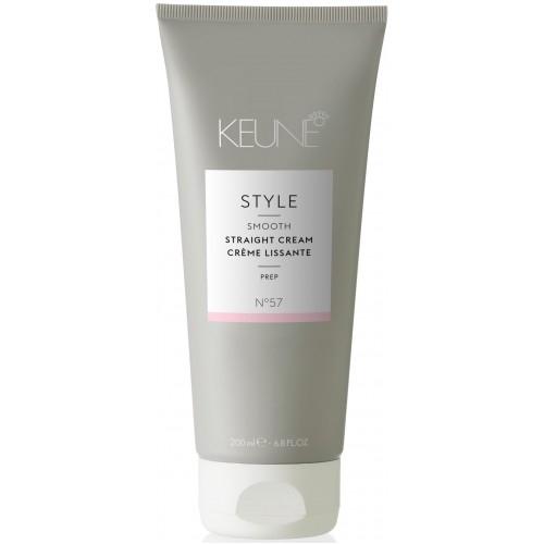 Crema cu activare termica pentru intinderea parului Keune Style Straight Cream, 200 ml