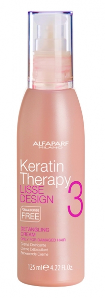 Crema pentru descurcare  Alfaparf Lisse Design Kt Detangling Cream ,125 ml