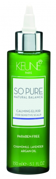 Elixir cu efect calmant pentru scalp sensibil Keune So Pure Calming, 150ml 0