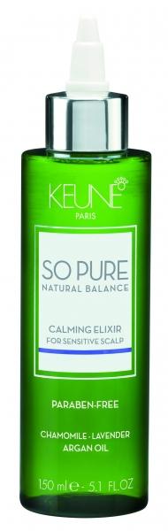 Elixir cu efect calmant pentru scalp sensibil Keune So Pure Calming, 150ml