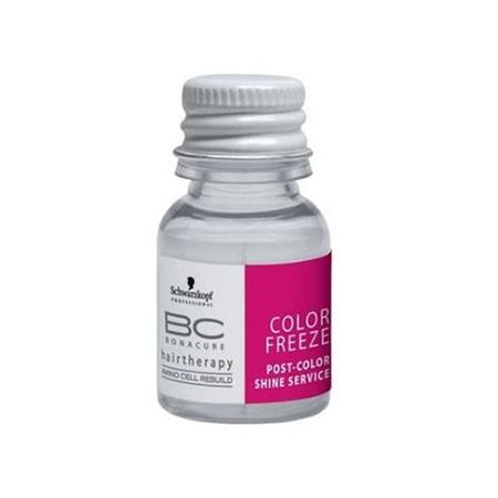 Fiole tratament Schwarzkopf Bonacure Color Freeze Post-Color Shine, 8x10 ml 0