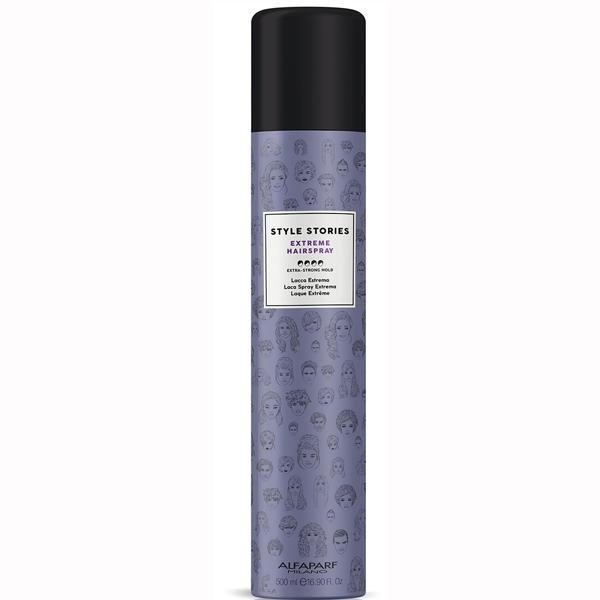 Fixativ cu fixare extra puternica Alfaparf Style Stories Extra Strong Hairspray, 500 ml