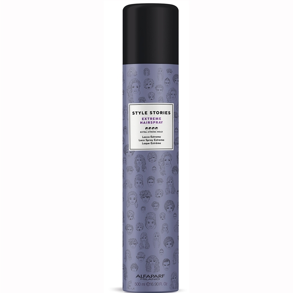 Fixativ cu fixare extra puternica Alfaparf Style Stories Extra Strong Hairspray, 500 ml 0