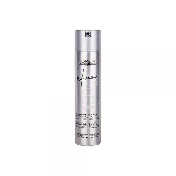 Fixativ cu mentinere extra puternica L`Oreal Professionnel Infinium Pure Extra Strong, 500 ml