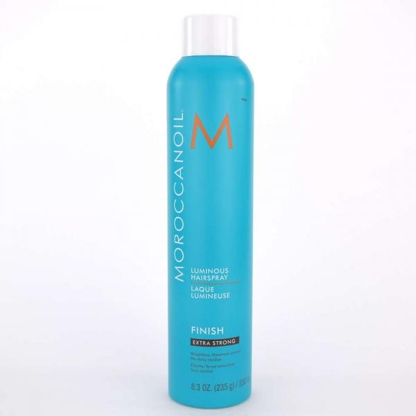 Fixativ foarte puternic pentru par Moroccanoil Luminous Spray Extra Strong, 330 ml