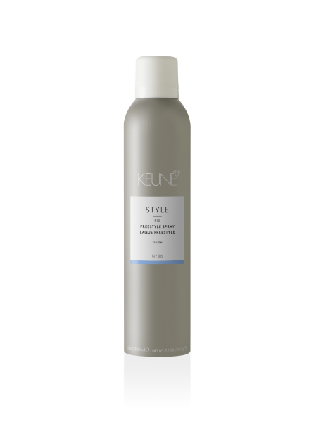 Fixativ lejer multi-obiectiv Keune Style Freestyle Spray, 300 ml
