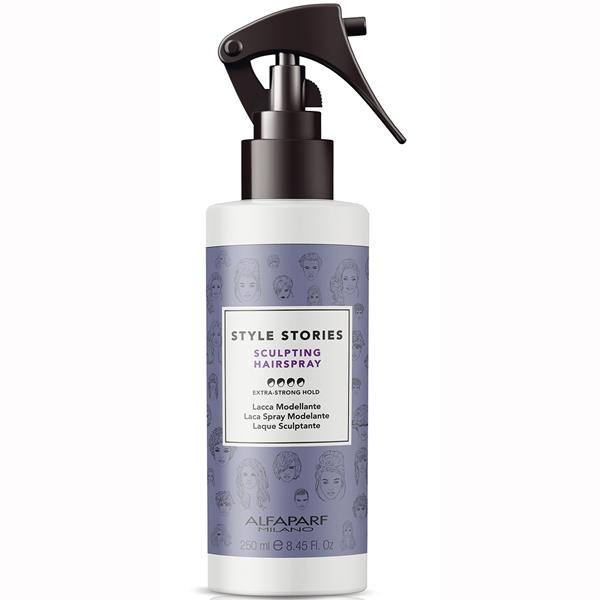 Fixativ lichid cu fixare extra puternica Alfaparf Style Stories Sculpting Hairspray, 250 ml