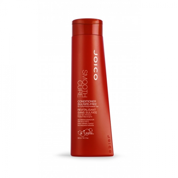 JOICO Smooth Cure  - balsam fara sulfati pt par cret/rebel/fir gros 300ml 0