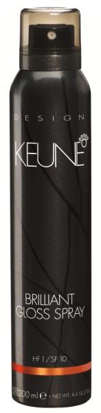 KEUNE BRILLIANT GLOSS Spray Luciu de Par, 200 ml 0