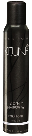 KEUNE Society Hairspray - Lac fixativ extra forte, 300 ml
