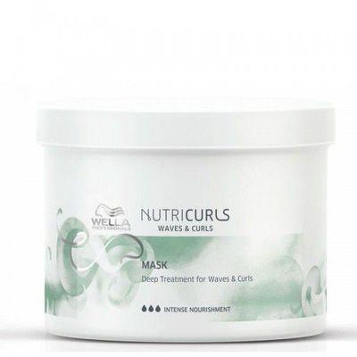 Masca pentru par cret/ondulat Wella Professionals Nutricurls Curls&Waves, 500 ml 0