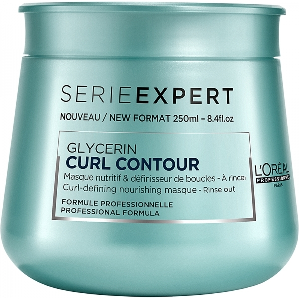Masca pentru par ondulat L`Oreal Professionnel Serie Expert Curl Contour, 250ml