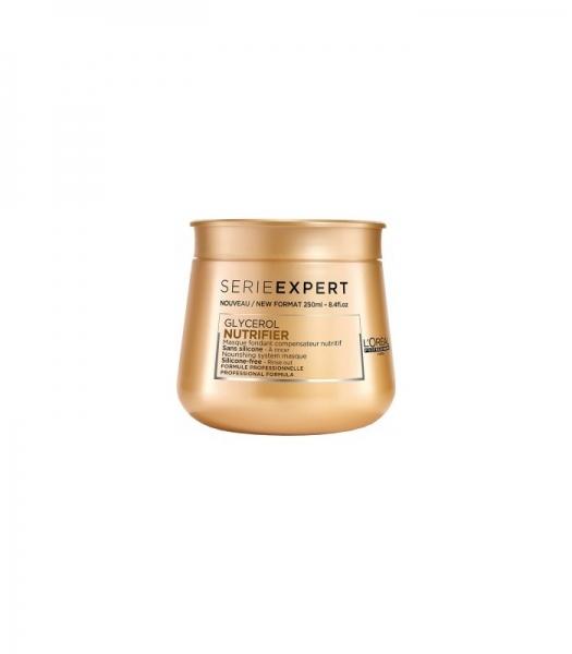 Masca pentru par uscat L`Oreal Professionnel Serie Expert Nutrifier, 250 ml