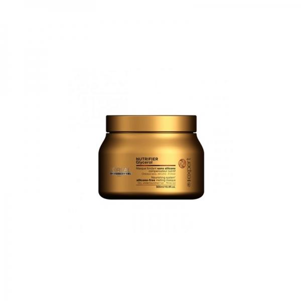 Masca pentru par uscat L`Oreal Professionnel Serie Expert Nutrifier, 500 ml