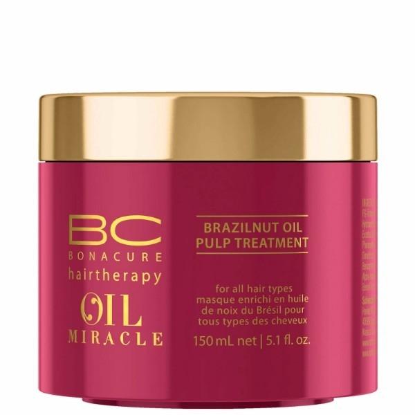 Masca pentru stralucire  Schwarzkopf Bonacure Oil Miracle Brazilnut Treatment, 150 ml