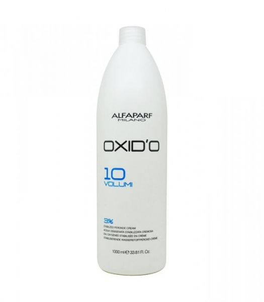 Oxidant crema cu peroxid de hidrogen 3% Alfaparf  OXID'O H202 10VOL ,1L 0