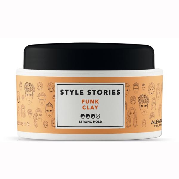 Pasta de par mata Alfaparf Style Stories Funk Clay, 100 ml 0