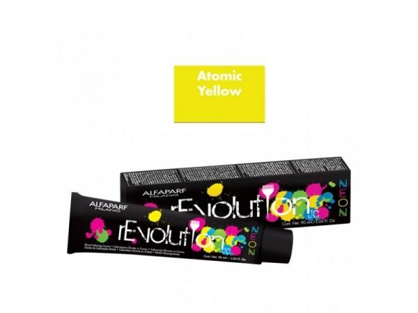 Crema de colorare directa Alfaparf rEVOLUTION JC NEON ATOMIC YELLOW ,90 ml