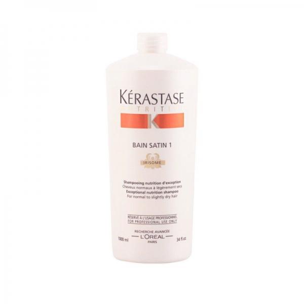 Sampon pentru par normal sau uscat Kerastase Nutritive Irisome Bain Satin 1, 1000 ml 0