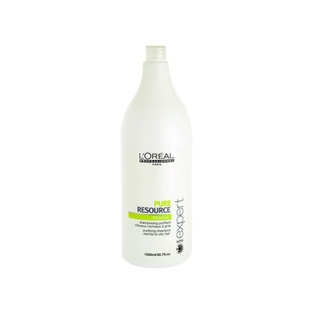 Sampon pentru par normal si gras L`Oreal Professionnel Serie Expert Pure Resource, 1500 ml
