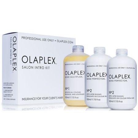 Tratament pentru par Olaplex Salon Intro Kit, 3 buc x 525 ml