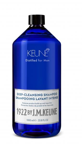 Sampon barbati profund degresant Keune 1922 Deep-Cleansing Shampoo, 1000 ml 0