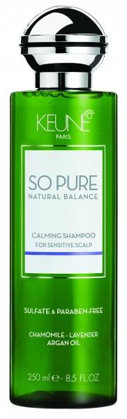 Sampon cu efect calmant pentru scalp sensibil Keune So Pure Calming, 250ml