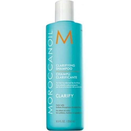 Sampon de curatare in profunzime Moroccanoil Clarifying Shampoo, 250 ml