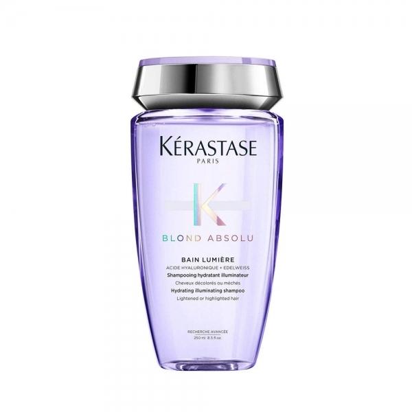 Sampon hidratant pentru par blond Kerastase Blond Absolu Bain Lumiere, 250 ml